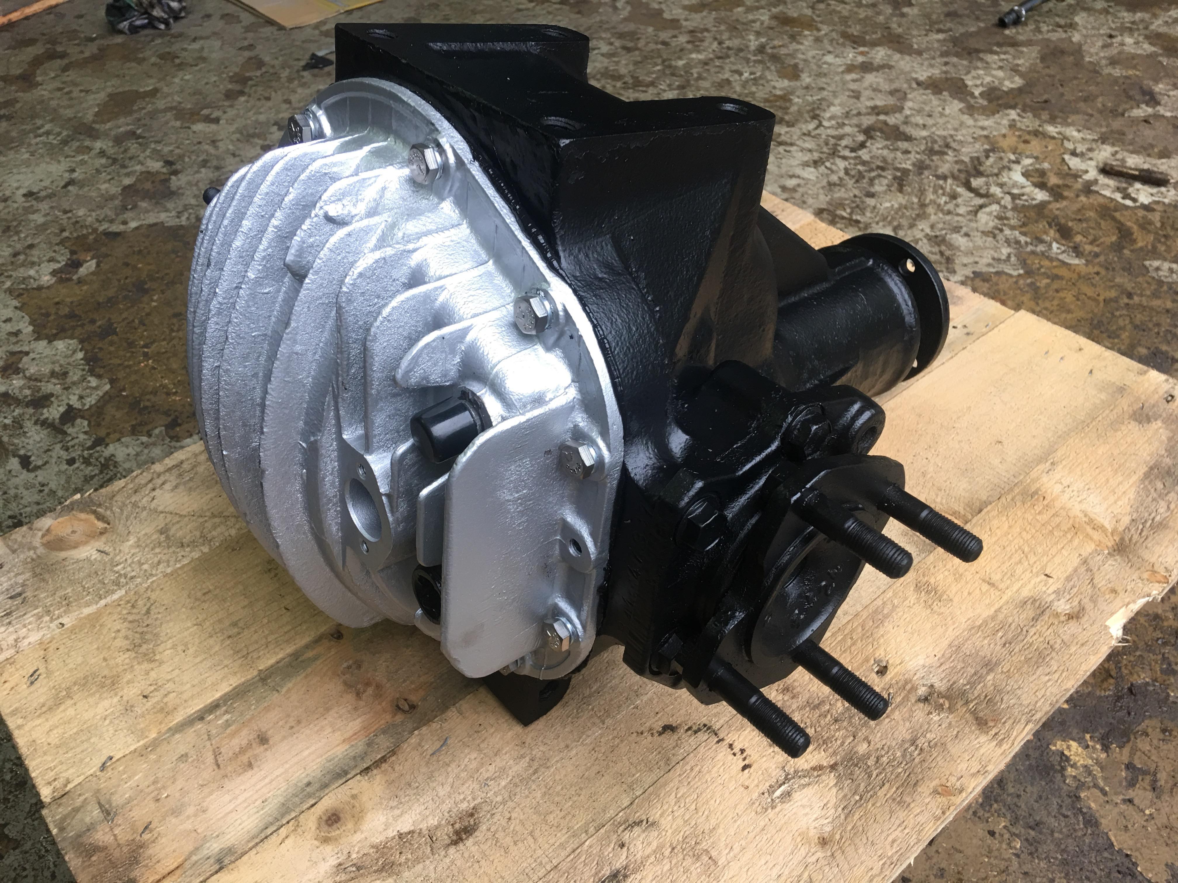 Salisbury Rear Axle : Salisbury differentials and axle units